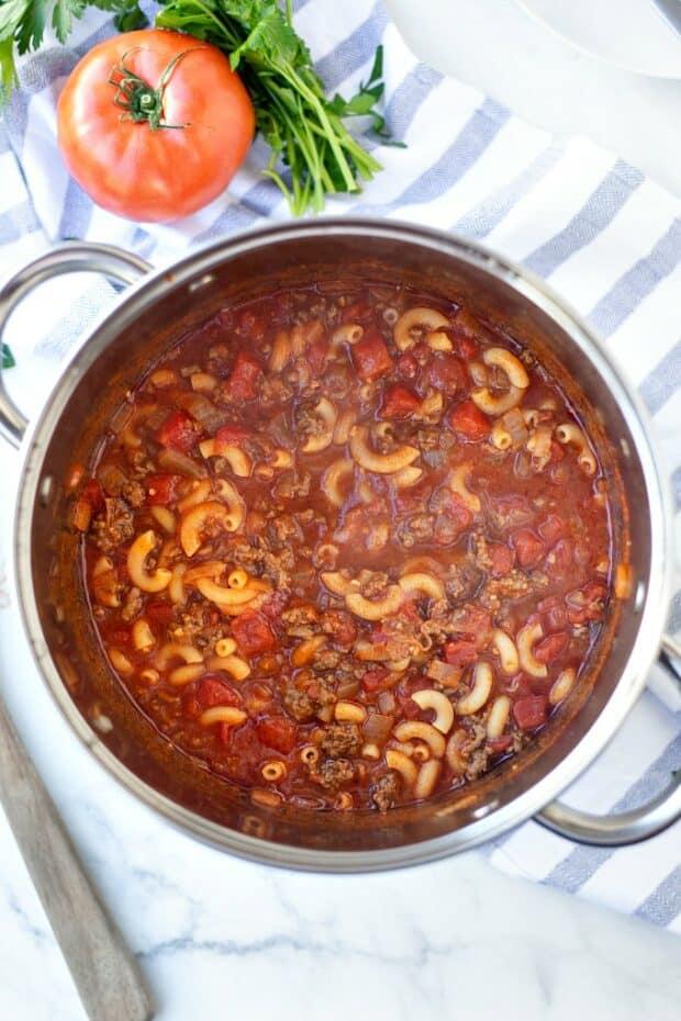 pot of goulash