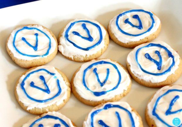 V-Bucks Sugar Cookies Fortnite Party Food