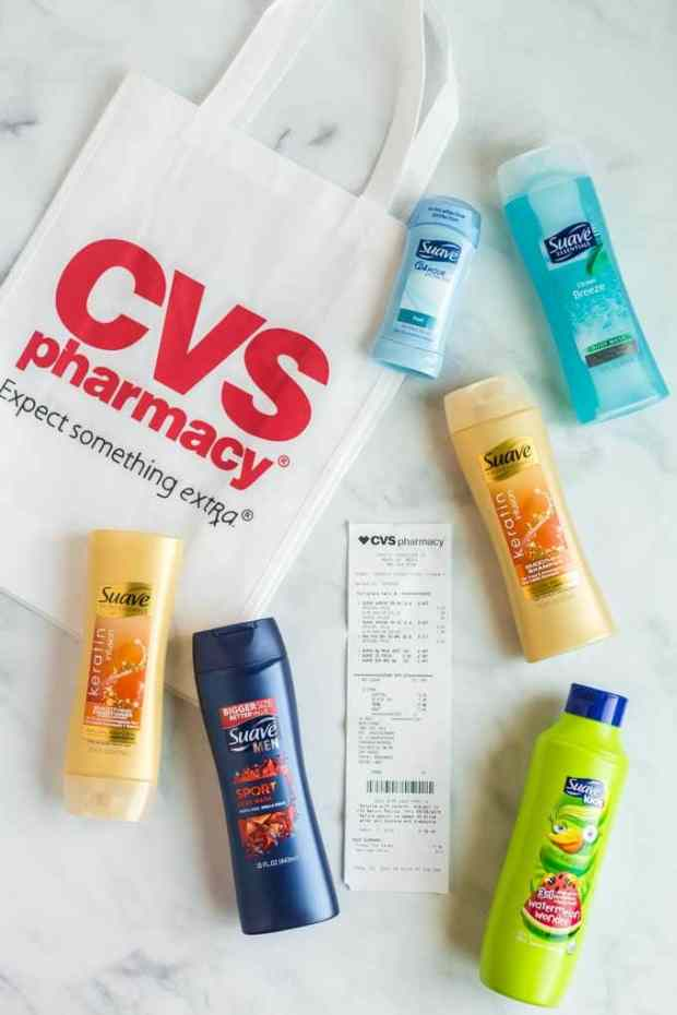 Suave Products at CVS