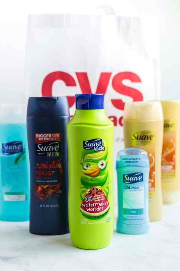 Suave Products for Whole Family at CVS