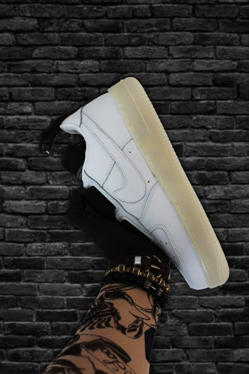 Мужские кроссовки Nike Air Force 1 Low Utility QS White • Space Shop UA