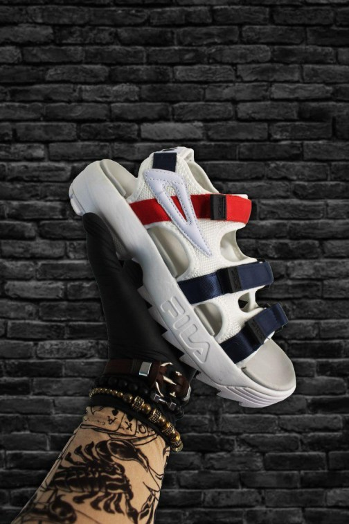 Сандалии унисекс Fila Disruptor 2SD Navy Red Sandals • Space Shop UA