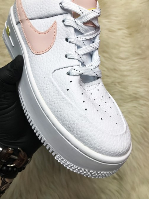 Женские кроссовки Nike Air Force 1 Sage White Pink • Space Shop UA