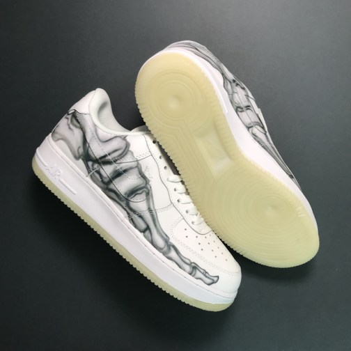 Кроссовки унисекс Nike Air Force 1 Low White Skeleton • Space Shop UA