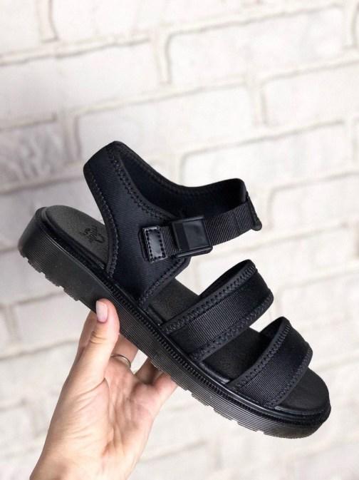Женские сандалии Dr Martens Sandals Full Black • Space Shop UA