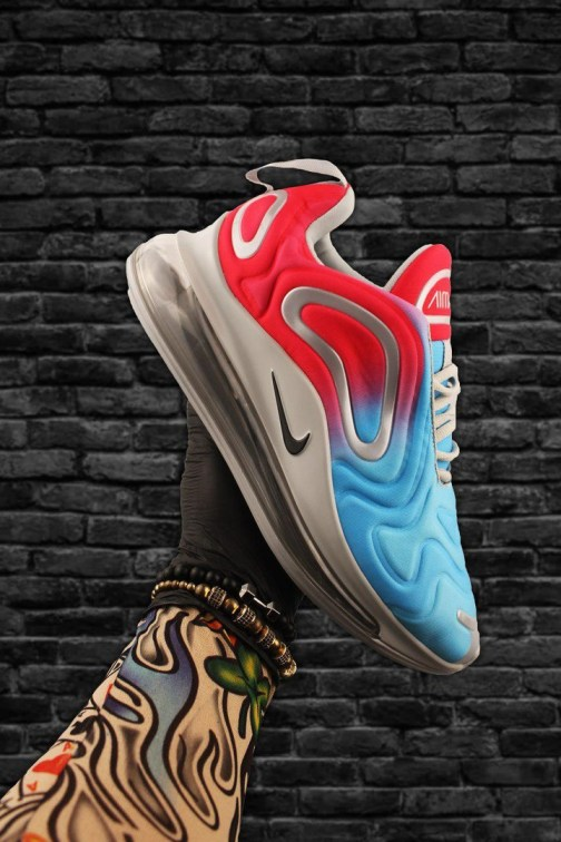 Кроссовки унисекс Nike Air Max 720 Red Blue • Space Shop UA