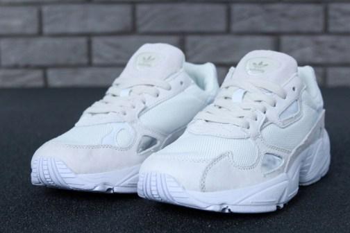 Кроссовки женские Adidas Falcon Triple White • Space Shop UA