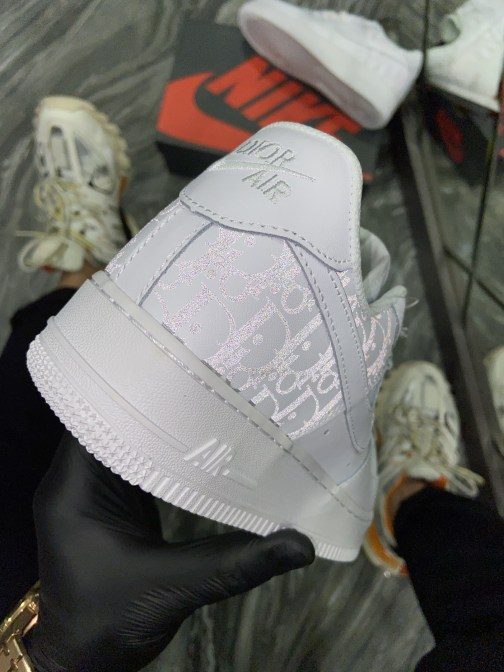 Nike Air Force 1 Low X Dior White (Белый) • Space Shop UA