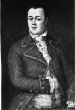 Auguste Chouteau, son of Madame Chouteau and stepson to Pierre Laclede. Legend has it he founded St. Louis with Pierre Laclede.