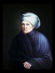 Marie-Therese Bourgeois Chouteau was often referred to as the First Lady of St. Louis. Her first husband left her after she gave birth to Auguste Chouteau, and she started a relationship with Pierre Laclede when she was 22. They had a common law marriage and had four children together, all of which had the surname Chouteau, not Laclede.