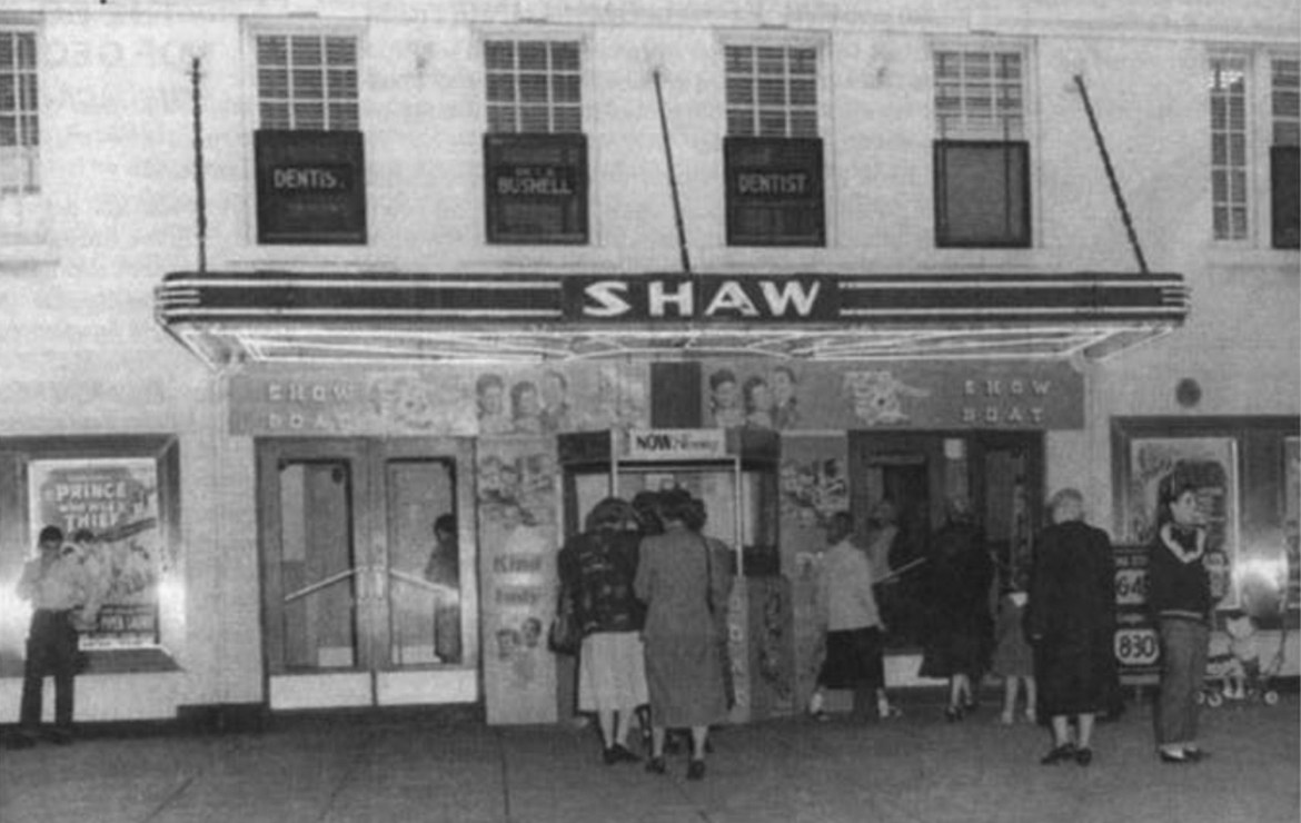 Shaw Theatre_sign