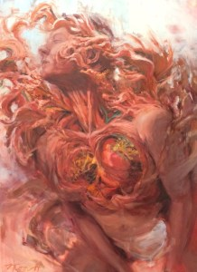 Body Bloom, 30 x 40