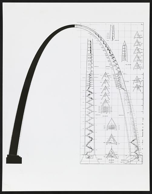 Section of the Arch