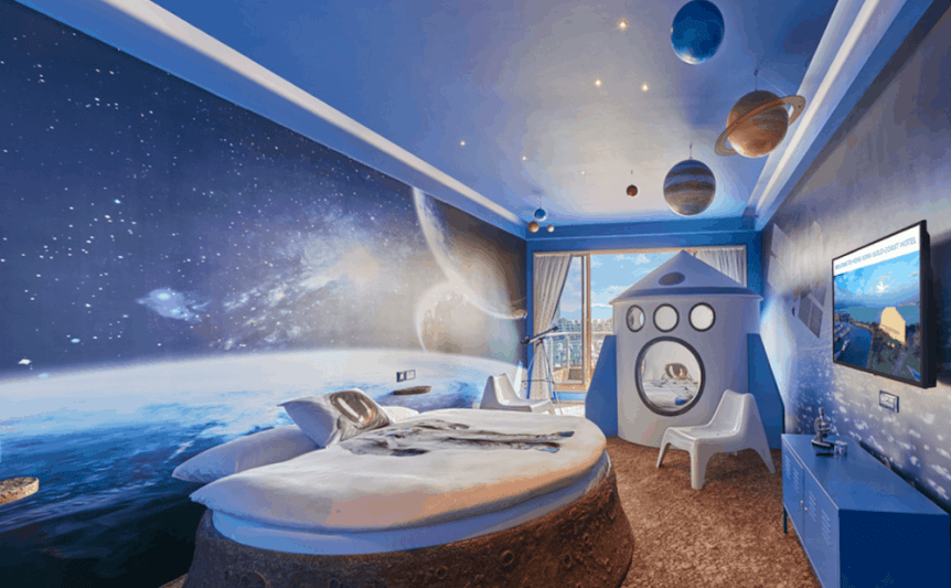 Space Themed Hotel: Gold Coast Hotel