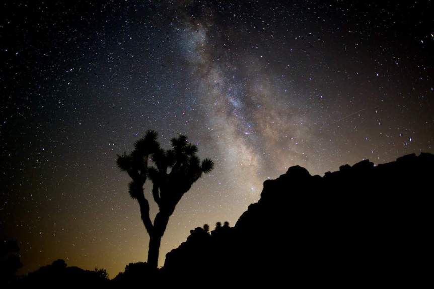 Stargazing near Los Angeles: Photo by Chao Yen