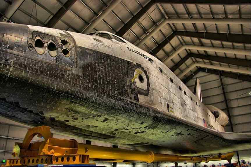 Space Activities in Los Angeles: Space Shuttle Endeavour