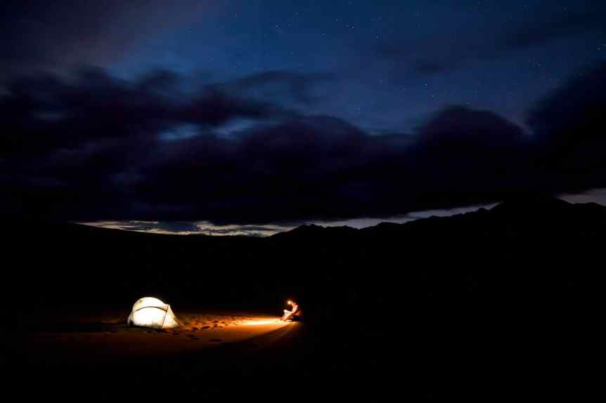 Stargazing at Great Sand Dunes National Park, Photo by Zach Dischner