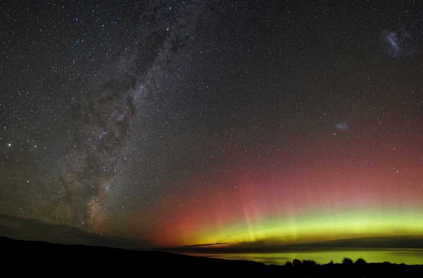 Aurora over New Zealand - Ben via Flickr
