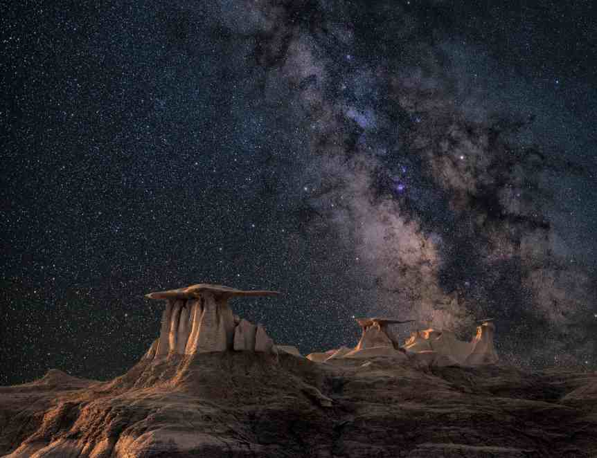 Astrophotography Tips: Use Foreground