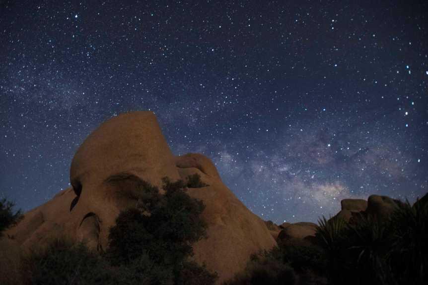 Skull Rock in Joshua Tree National Park - NPS/Hannah Schwalbe
