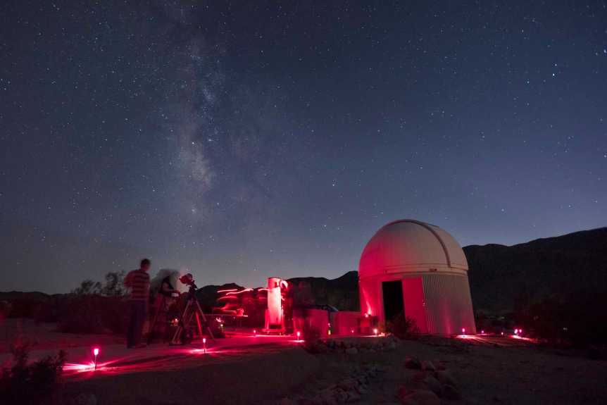 Skys the Limit Observatory - NPS/Hannah Schwalbe
