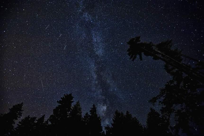 July Night Sky - Meteor Shower