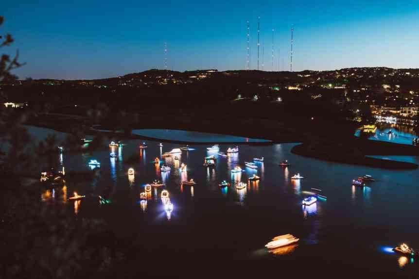 Stargazing in Austin - Boating