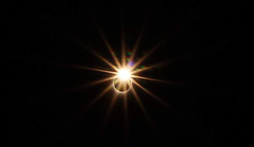Diamond Ring during Solar Eclipse