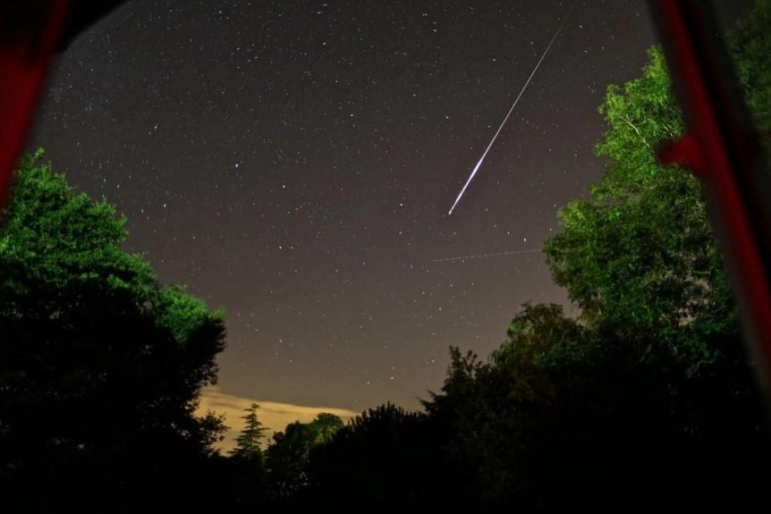 Night Sky Events - Perseids - Paul Williams via Flickr