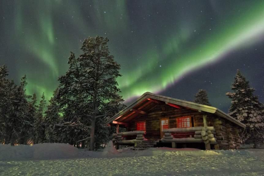 Northern Lights in Finland - Chris via Flickr