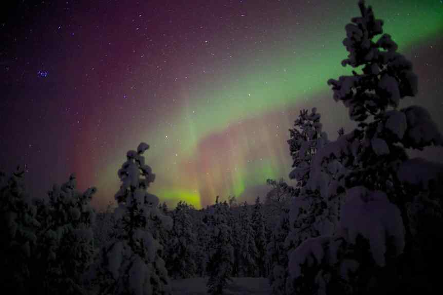 Northern Lights in Finland - Paul Williams via Flickr