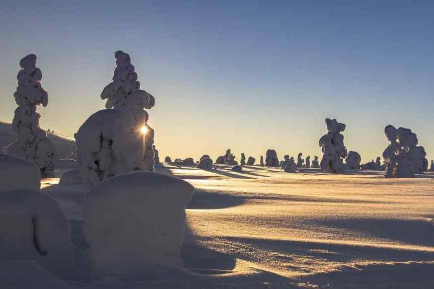 Northern Lights in Finland - Winter