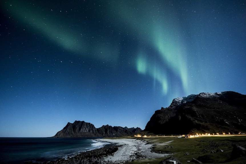 Northern Lights in Norway - Lofoten