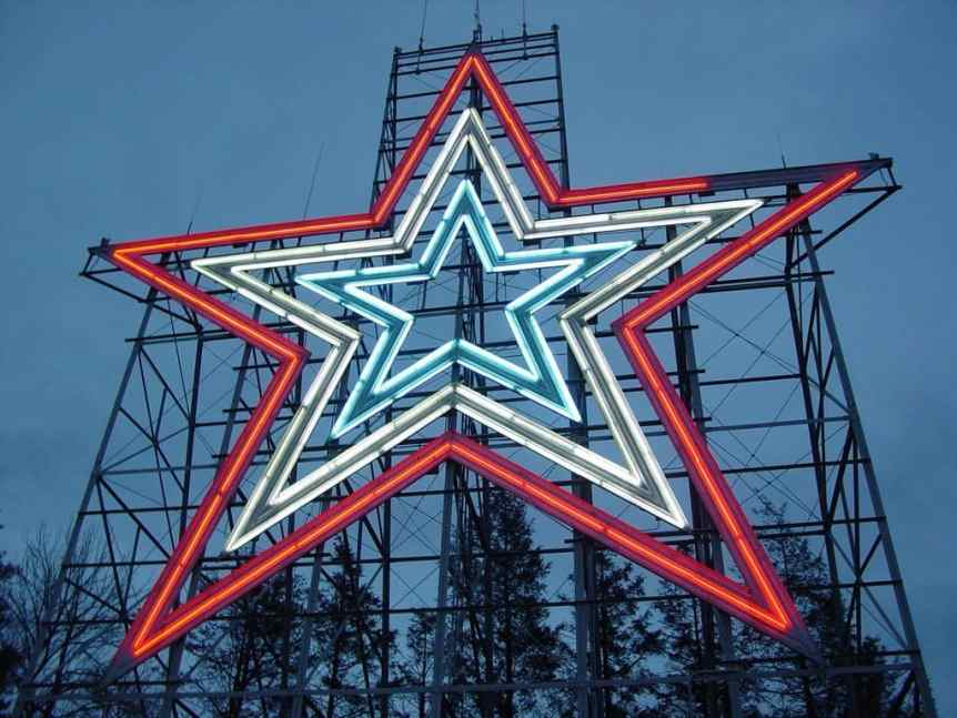 Roanoke Star - menifeedave via Flickr