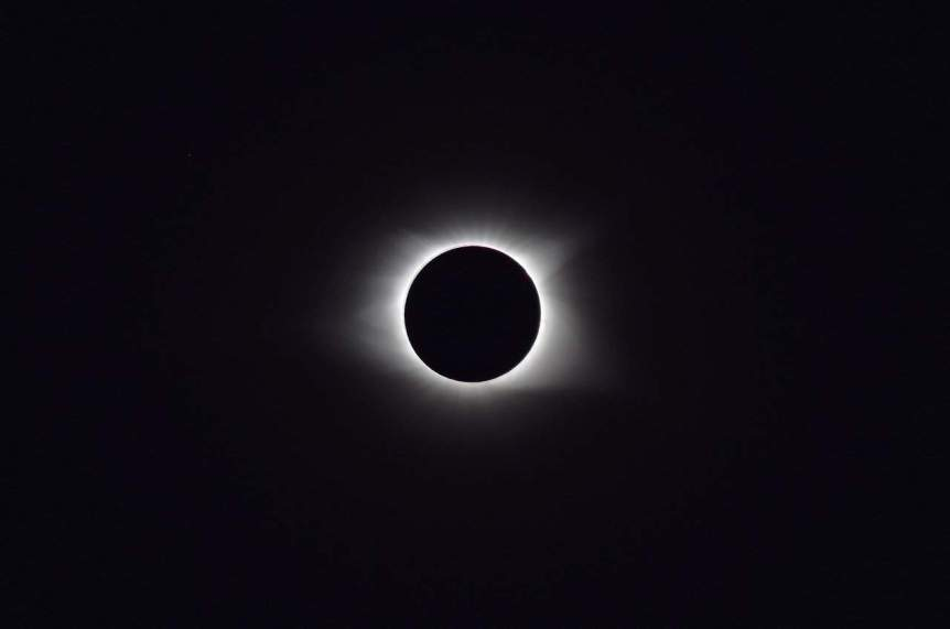 Totality during the Solar Eclipse