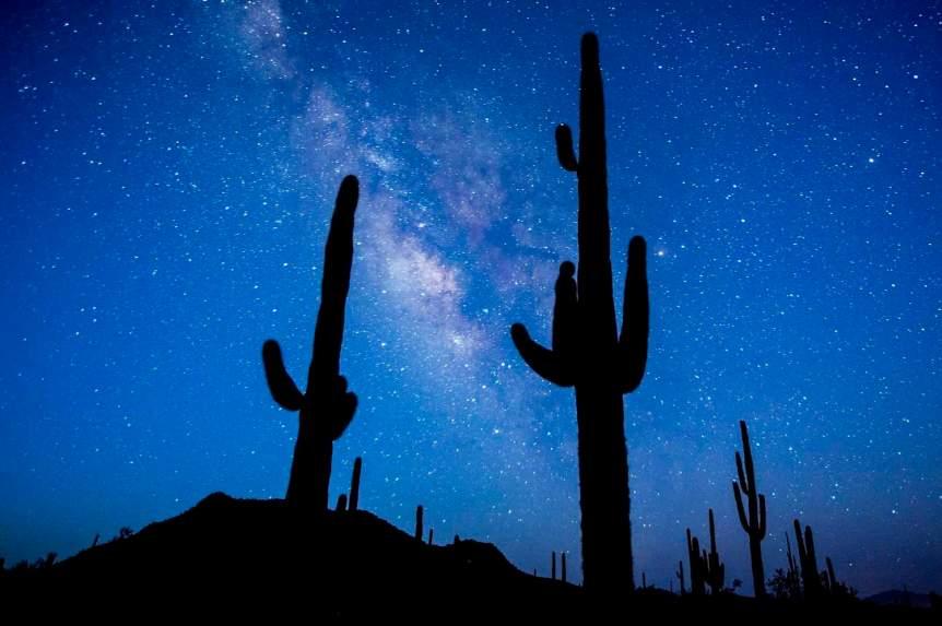 Stargazing in Tucson - Juan Bautista de Anza National Historic Trail - Bob Wick for BLM via Flickr