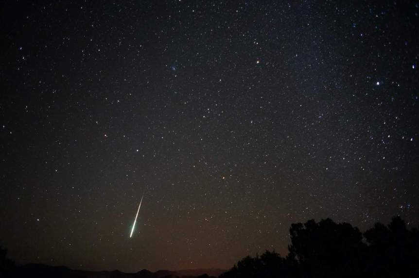 Night Sky November - Taurid Fireball - Mike Lewinski via Flickr