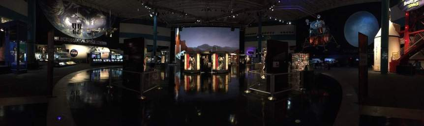 Atrium at Space Center Houston