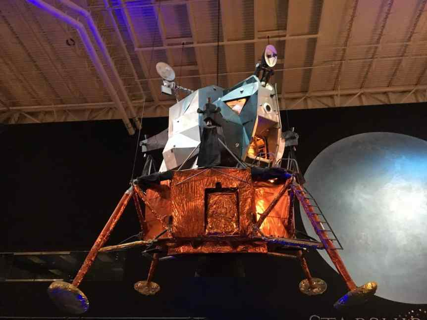Lander at Space Center Houston