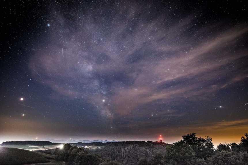 Night Sky in December - Kaustav Ghose via Flickr