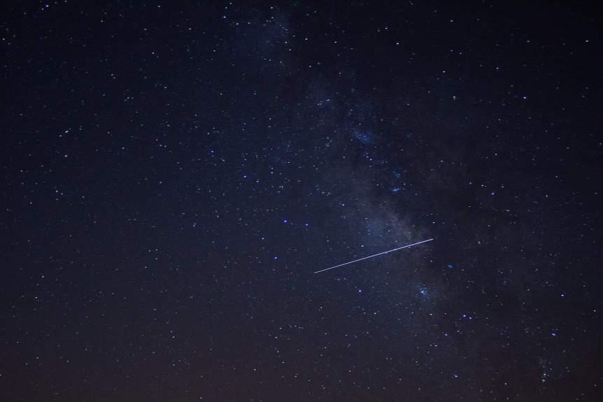 Lyrid Meteor Shower - Islam Hassan via Flickr