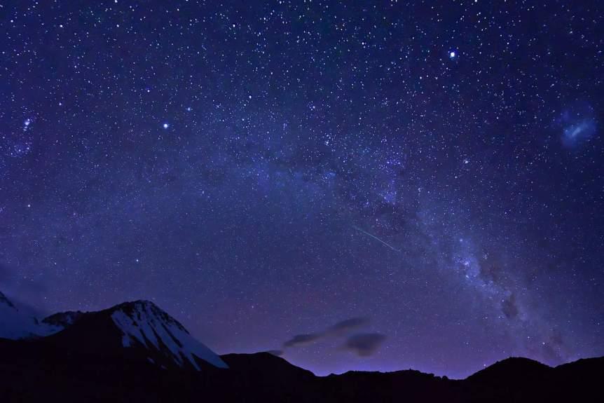 Milky Way & Magellanic Clouds - Tomas Sobek via Flickr