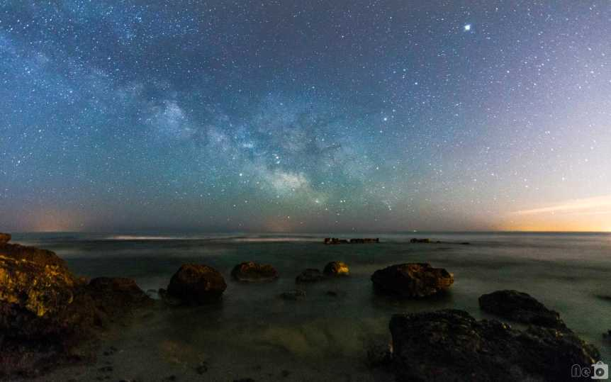 Milky Way, Mars, Jupiter & Saturn - Manuel Escuder via Flickr