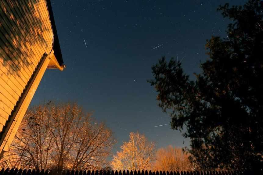 Night Sky in January - Quadrantids - thepixeltrail via Flickr