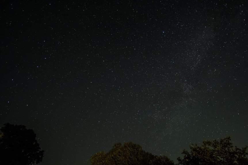 Stargazing near Dallas - Milky Way