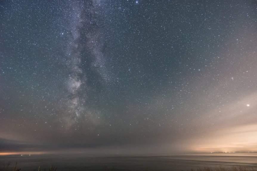 Night Sky in February - Milky Way - Richard Leighton via Flickr