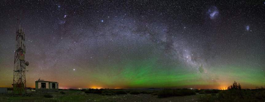 Southern Lights in Australia - Pierre Auger Observatory via Flickr