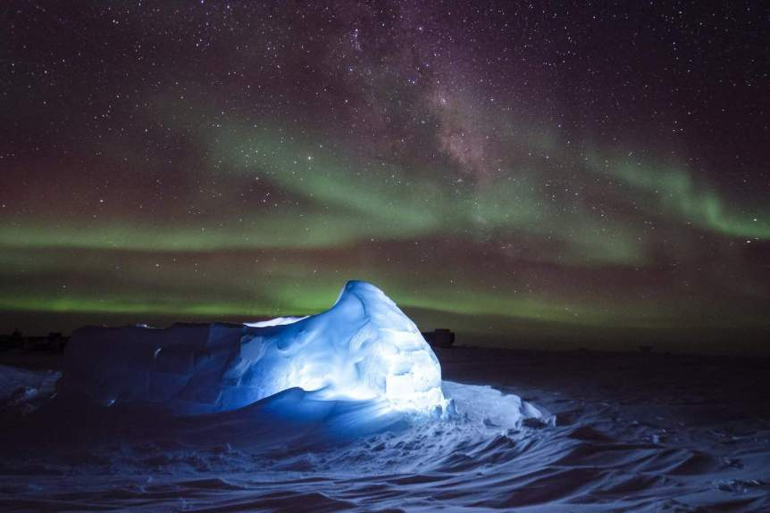 Where to See the Southern Lights - Antarctica - Ross Burgener, ET, NOAA:OAR:ESRL:GMD via Flickr
