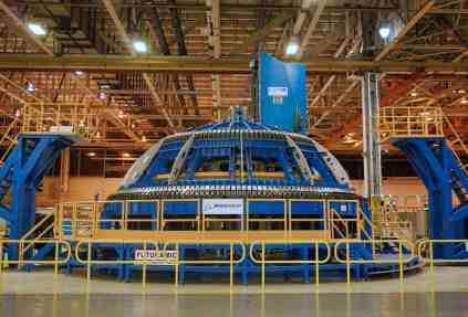 Michoud Assembly Facility - Dome Welding Tool