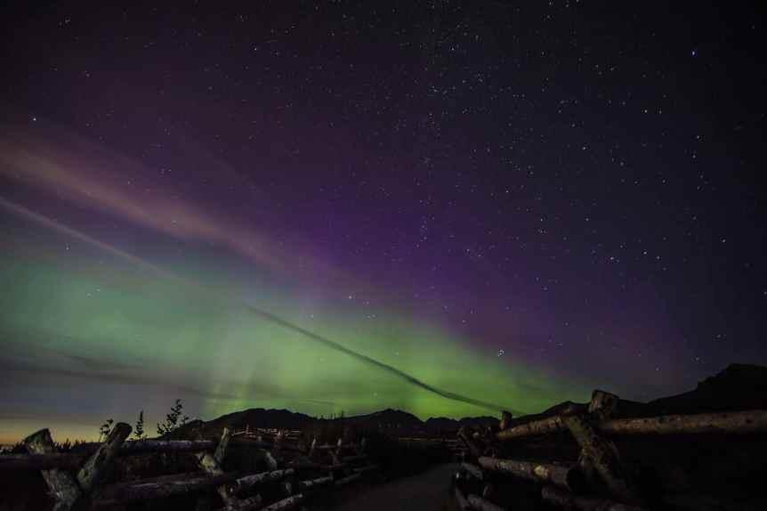 Northern Lights in Alaska - Anchorage - Matt Wiebe via Flickr
